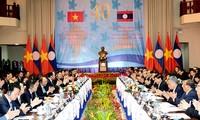 越老政府间合作委员会第40次会议在老举行