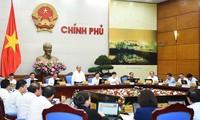 越南政府二月工作例会讨论二月经济社会情况