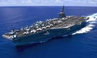 美国海军舰艇编队即将访越