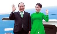 阮春福抵达奥克兰开始对新西兰进行正式访问