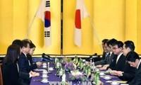 日本与韩国一致同意对朝鲜施加最大限度的压力