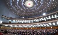 中国十三届全国人大一次会议通过国务院任职人选提名