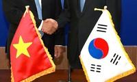 越韩关系迈出的新发展步伐