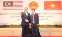 越南和马来西亚庆祝建交45周年