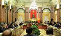 加强越南国家主席与祖国阵线中央委员会主席团工作协调配合