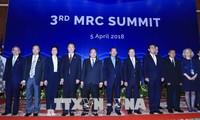 越南政府总理阮春福出席第三届湄公河委员会峰会全体会议