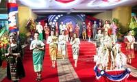 老挝留学生在顺化迎接老挝传统新年