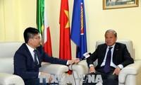 推进越南与意大利各地的有效合作