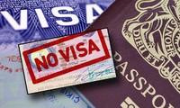 越南继续对五个欧洲国家公民实行免签证