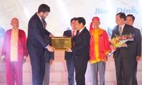 越南中部发牌唱曲艺术获颁人类非物质文化遗产代表作证书