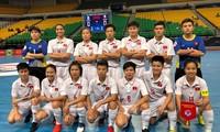 越南队晋级2018年亚洲女子五人制室内足球锦标赛四分之一决赛