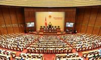 越南国会讨论经济社会发展情况