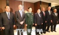 越南国防部长吴春历在香格里拉对话会期间出席多场双边会晤