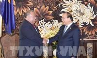 阮春福会见出席全球环境基金第六届成员国大会的各国领导人