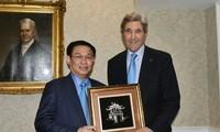 越南政府副总理王庭惠圆满结束美国之行