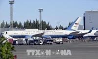 美国军用飞机飞往芬兰 为美俄首脑会晤做准备
