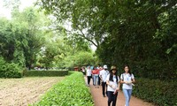 海外越南青少年探访胡志明主席家乡