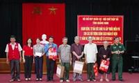 """""""报恩答义""""活动继续在广宁省与河内市举行"""