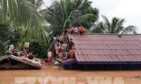 老挝水电站溃坝:旅老越南人安全