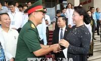 阮氏金银:工人阶级和劳动者必须是生产战线上的战士