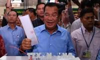 越南祝贺柬埔寨成功举行第六届国会选举