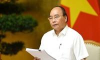 阮春福在重组经济结构、革新增长模式国家指导委员会会议上作总结发言
