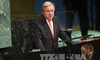 联合国秘书长古特雷斯呼吁加强多边合作解决全球性挑战