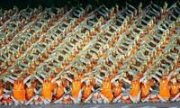 2018亚运会开幕式气势恢宏 展现万岛之国的节日气氛