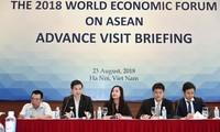 越南接待出席世界经济论坛东盟峰会的各国代表团先遣小组
