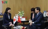 越南政府总监察长黎明概对日本进行工作访问