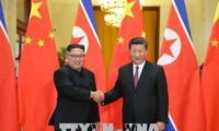 朝鲜希望推动与中国的特殊关系发展