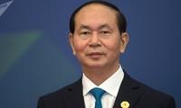 世界各国领导人就越南国家主席陈大光逝世向越南领导人致唁电