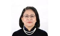 越南国会常委会发布关于邓氏玉盛行使国家主席职权的通知