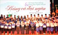 越南各地举行社会活动帮助贫困学生和患上疑难病症的儿童病人