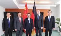 中国与德国加强安全合作