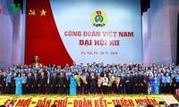 越南工会第12次全国代表大会闭幕