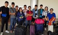 在印度尼西亚越南学生情况更新