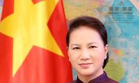 越南国会主席阮氏金银出席亚欧国家议长会议