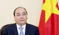 越南政府总理阮春福接受日本媒体采访
