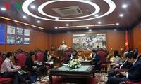 加强越南与蒙古国媒体合作