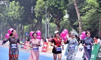 2018年河内遗产国际马拉松赛在河内举行