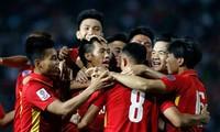 越南足球队在东南亚地区排名首位