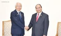 越南政府总理阮春福会见日本兵库县代表团