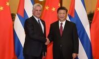 中国国家主席习近平呼吁谱写中古友好合作新篇章