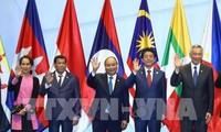 阮春福出席第33届东盟峰会相关活动