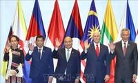 阮春福出席东盟与美国领导人会议