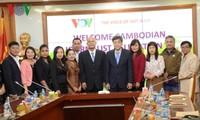 VOV将继续向柬埔寨广播部门提供技术援助