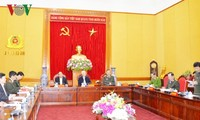 阮富仲出席越共中央公安党委常委会议