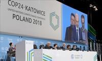 国际社会努力落实有关气候变化的《巴黎协定》