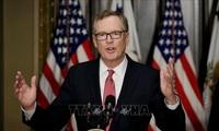 美国贸易代表莱特希泽对美中达成协议的可能表示不乐观